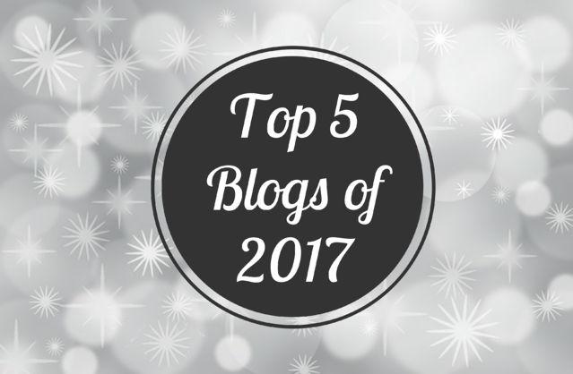 Top 5 Blogs of 2017